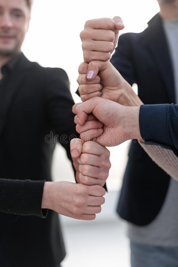 Business Colleagues Together Teamwork Working Office royalty free stock photos