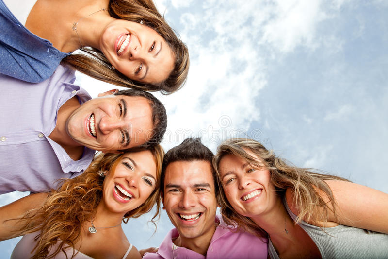 Download Young people laughing stock image. Image of latin, latinamerican - 23503363