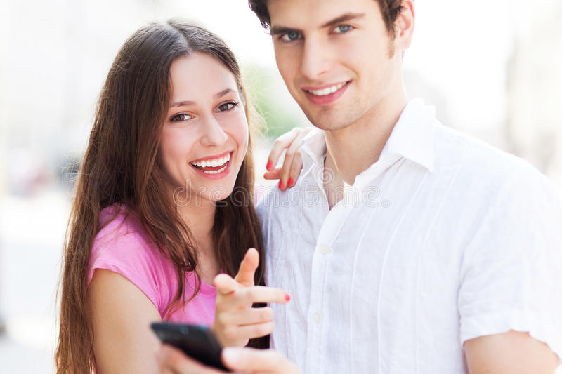 Download Young People With Mobile Phone Stock Images - Image: 32321794