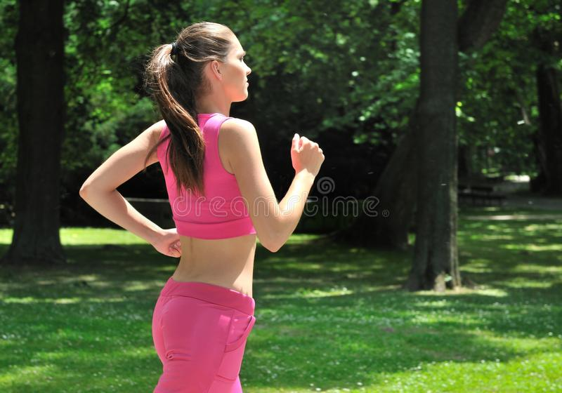 Download Young Person Running Outdoors Stock Photo - Image of sport, training: 14346232