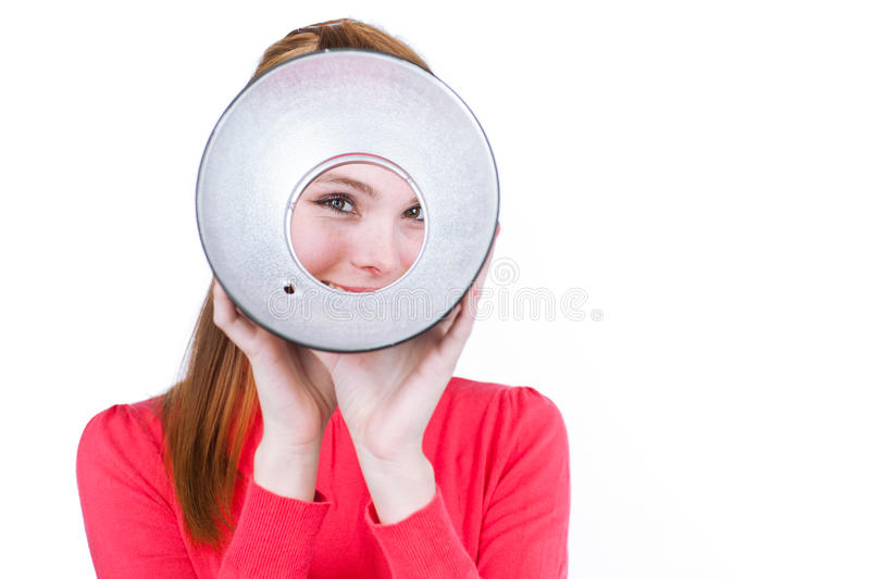 Download Young photo assistent stock image. Image of equipment - 24610581