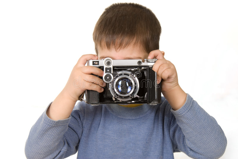 Download Young photographer stock image. Image of human, education - 2305941