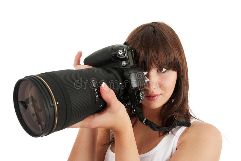 Download Young photographer stock photo. Image of lens, culture - 23247482
