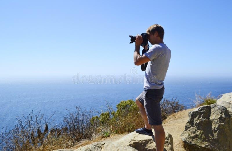 Young photographer stock photos