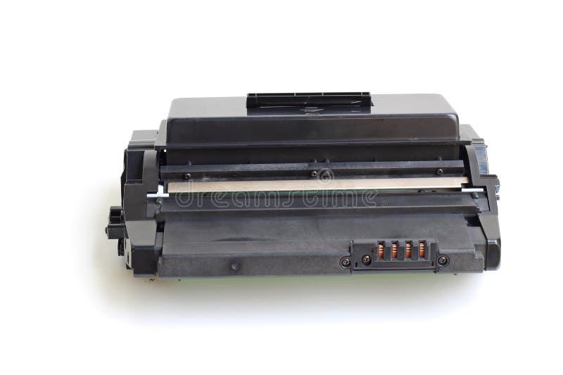 Toner cartridge. Toner cartridge on white background.(Compatible) royalty free stock photography