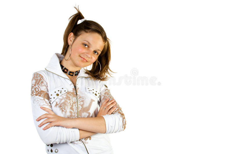 Young pretty girl royalty free stock images