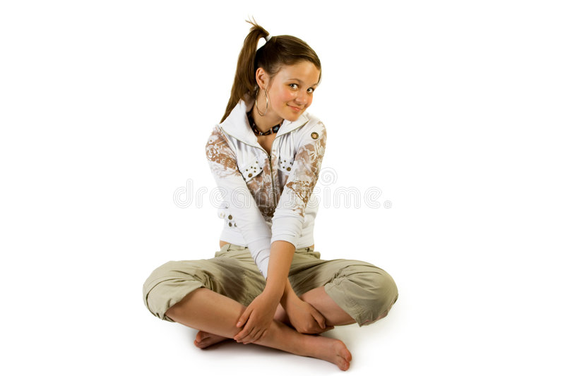 Young pretty girl stock image