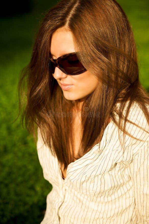Free Young Pretty Girl In Sunglasses Stock Photo - 7723690
