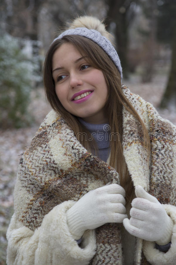 Download Young pretty girl walks stock photo. Image of smile, outdoor - 83721638