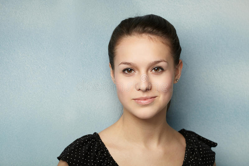 Young pretty woman stock photography