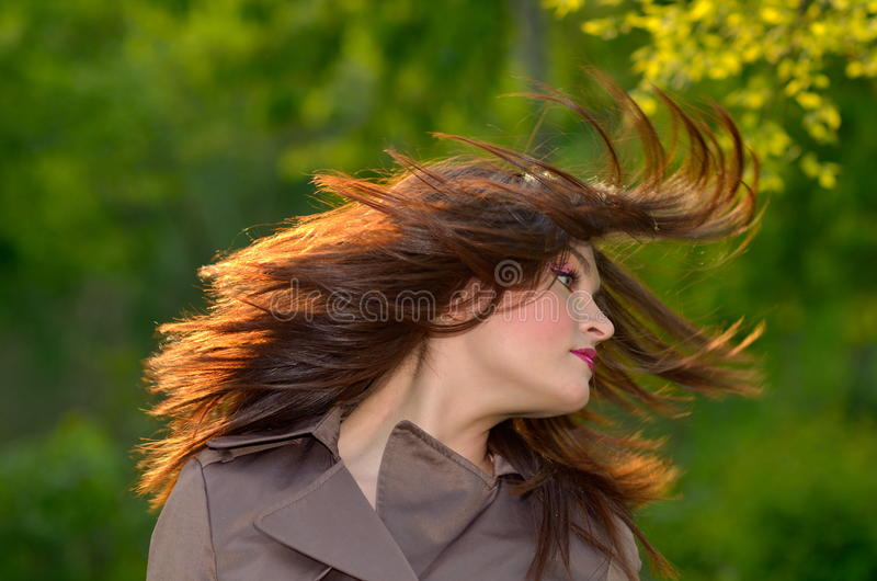 Download Young Pretty Woman Portrait Stock Photo - Image of girl, beauty: 26101916