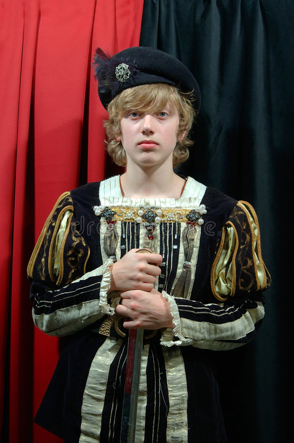 Download Young Prince Of The 18th Century Stock Photo - Image of theatre, costume: 48820