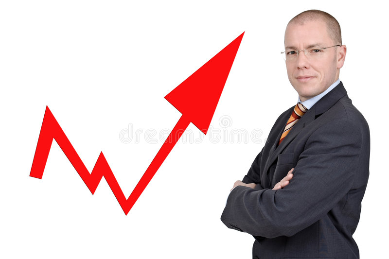 Young professional royalty free stock photo