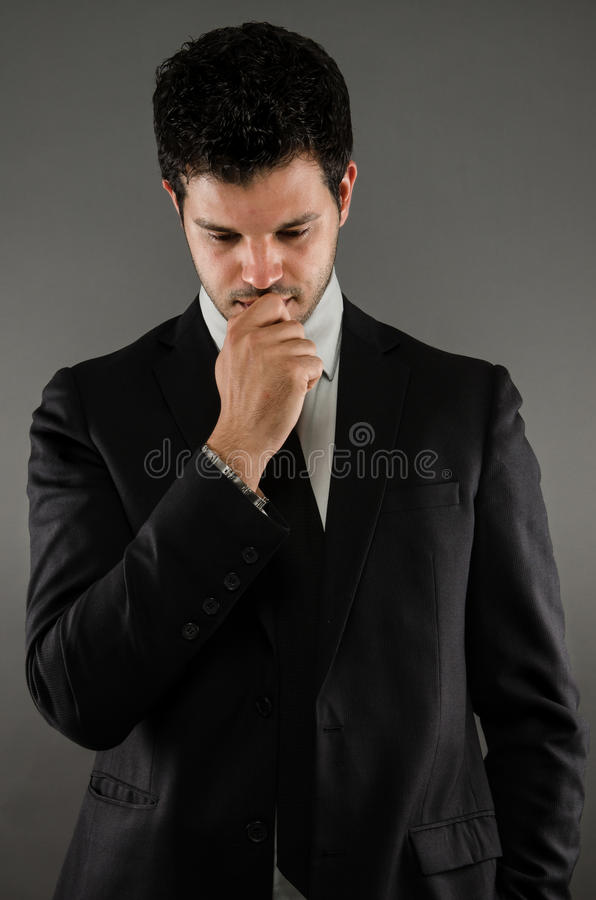 Young Professional in Suit stock photo