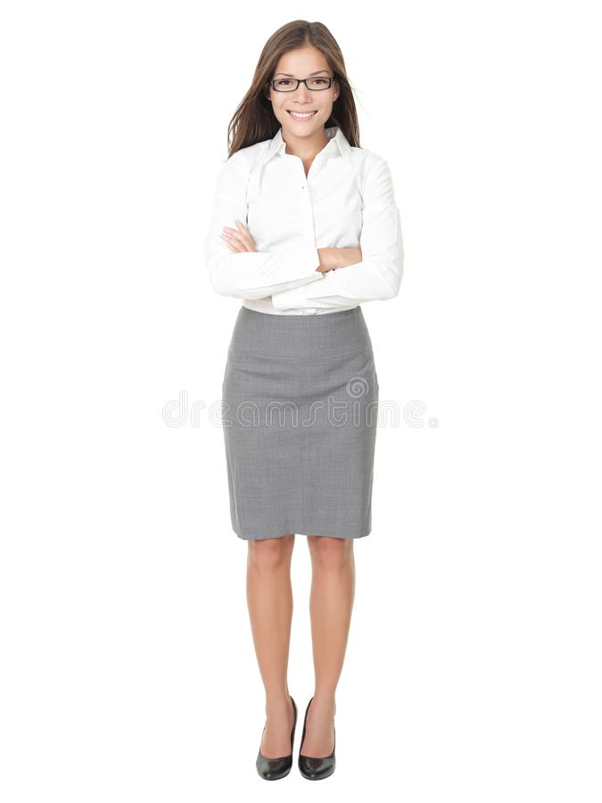 Young professional woman royalty free stock photos