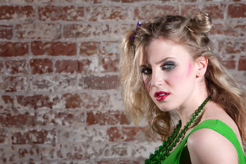 Download Young Punk Rocker stock image. Image of glam, person - 14857647