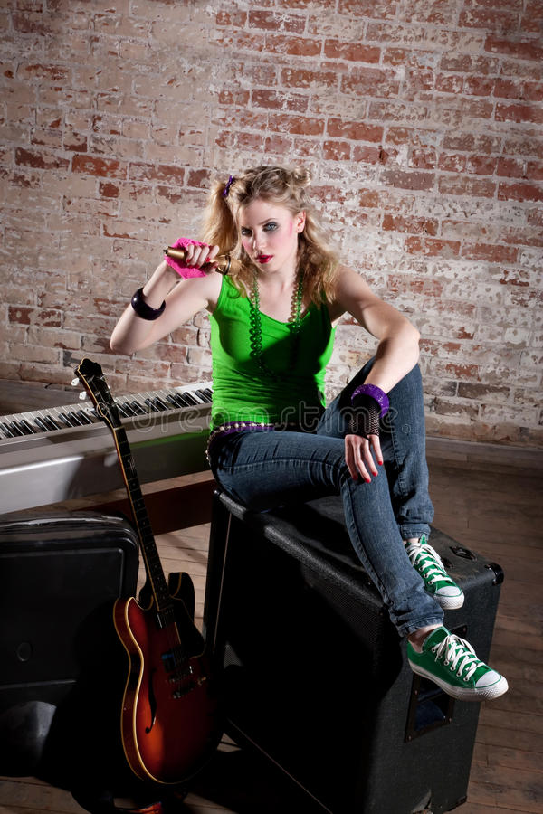 Free Young Punk Rocker Stock Photography - 15326202