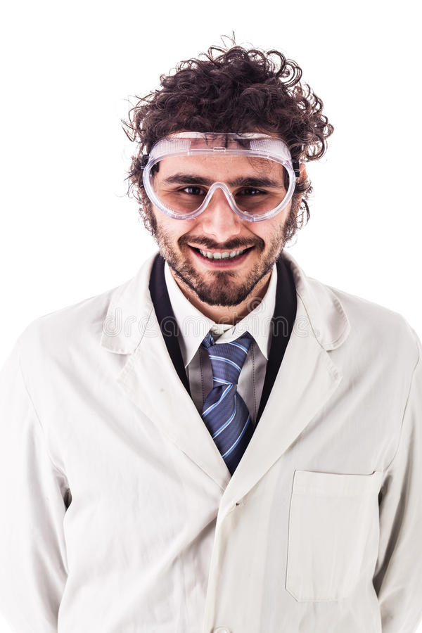 Young researcher portrait stock images