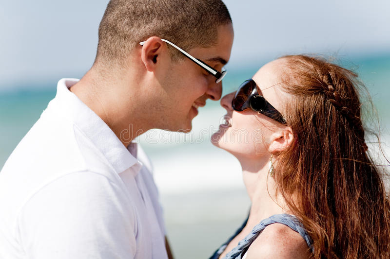 Download Young Romantic Couple About To Kiss Stock Photo - Image: 11795936