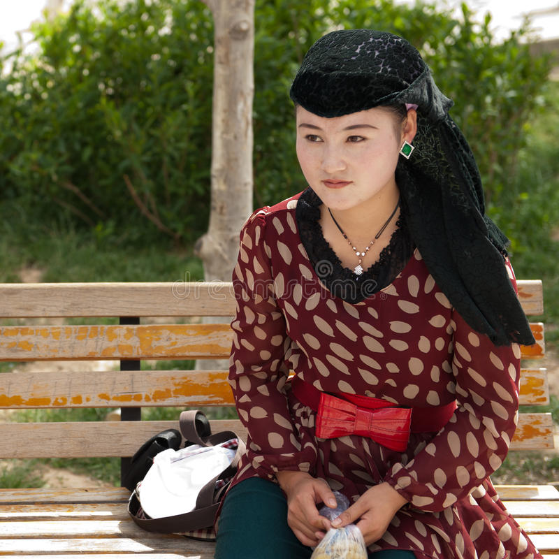 Download Young Salar Woman editorial photography. Image of chinese - 26576282