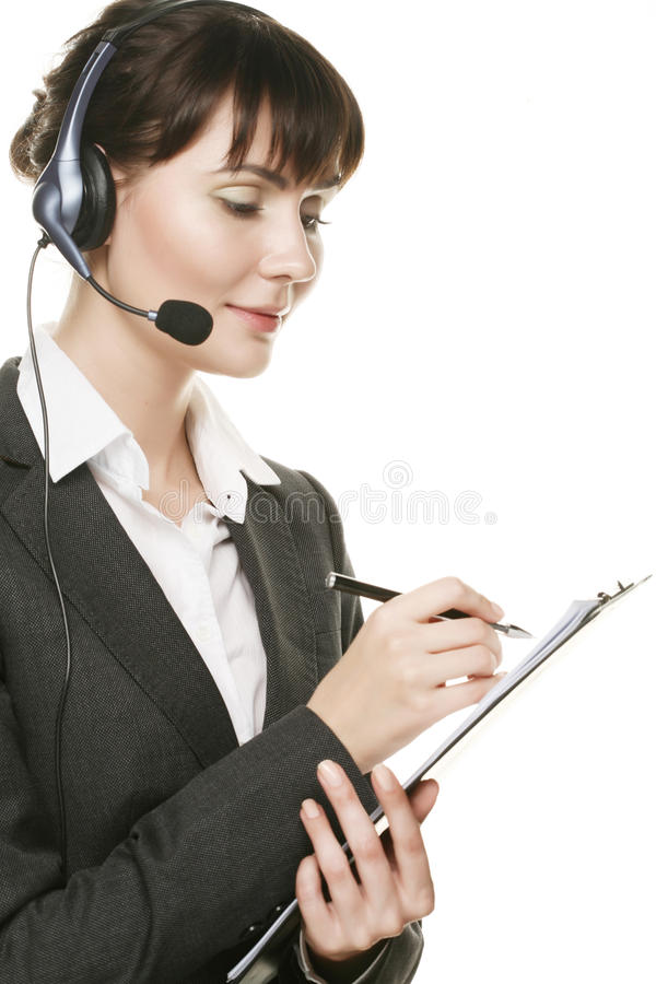 Free Young Secretary Taking Notes Stock Images - 11911454
