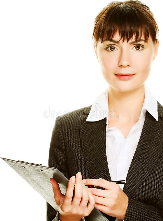 Free Young Secretary Taking Notes Stock Images - 36183984