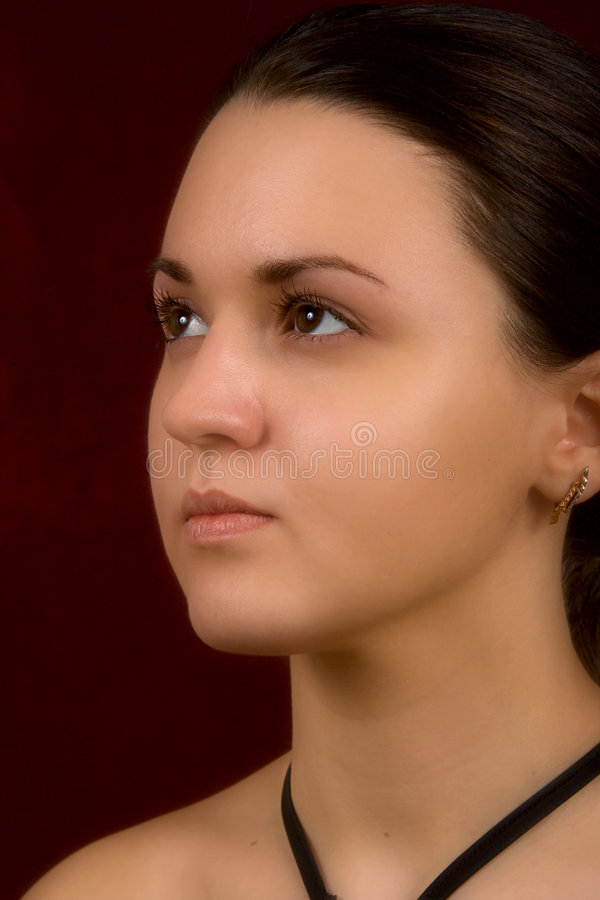 Young sexual girl stock image