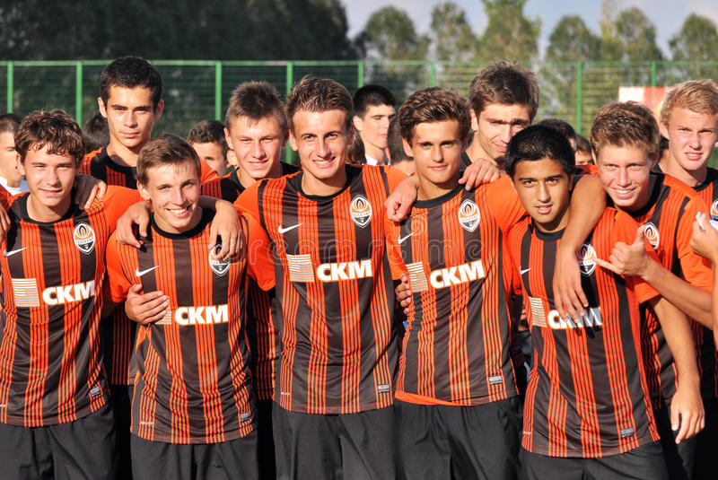 Download Young Shakhtar Teams Portraits Editorial Stock Photo - Image: 26230993