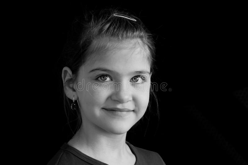 Young smile. royalty free stock photo