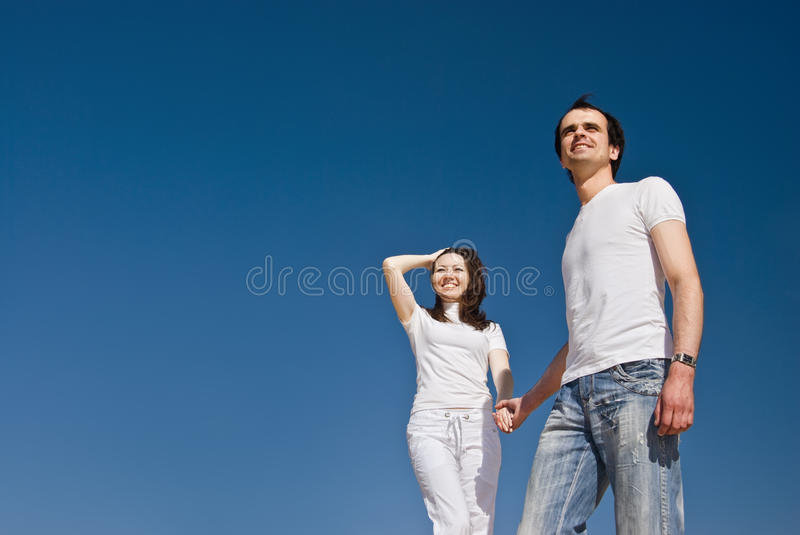 Download Young smiling couple stock image. Image of dating, destinations - 14674289