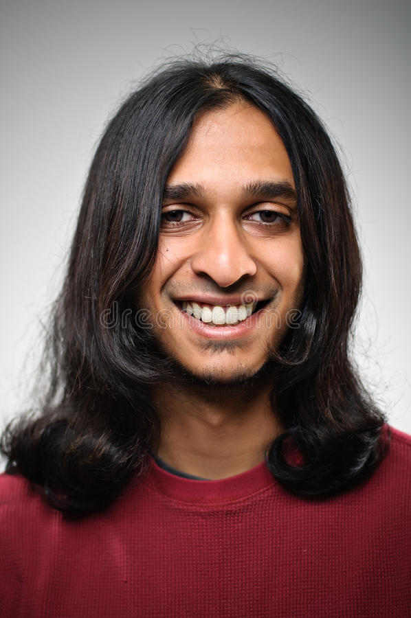 Download Young Smiling Indian Ethnic Man Portrait Stock Image - Image: 31157723