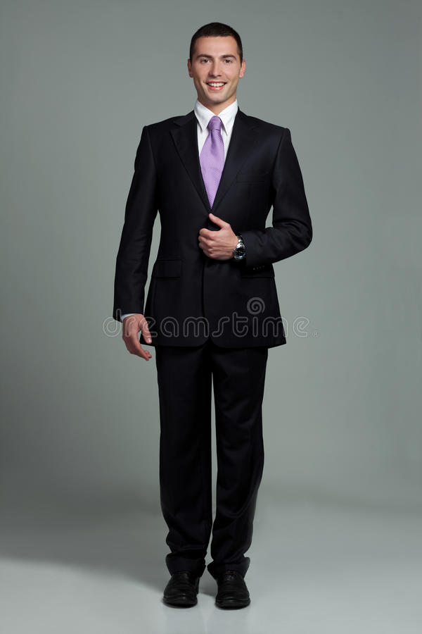 Young smiling man royalty free stock photography