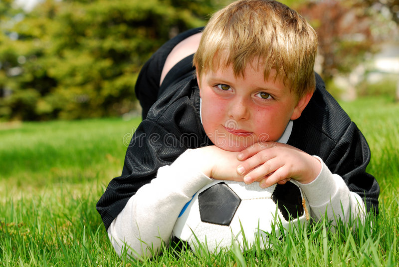 Download Young Soccer Player stock image. Image of ball, youth - 5442237