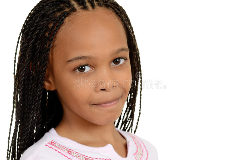 Young south african girl royalty free stock image