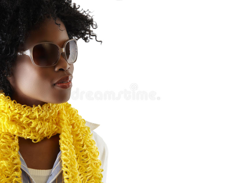 Young South African woman stock photo