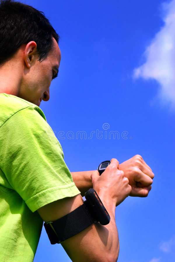 Download Young sporting boy stock image. Image of target, young - 4904747