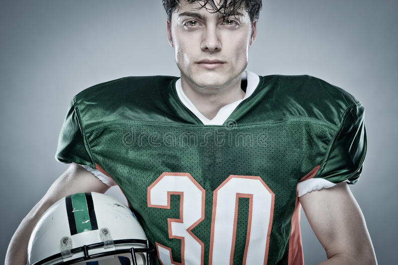 Young sportsman stock photography