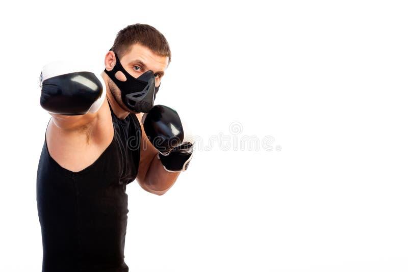 Adult man wrestler stock photography
