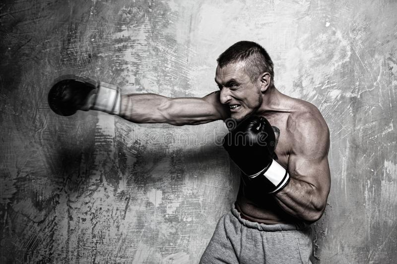 Download Young sporty man stock photo. Image of fighting, kicking - 34644922