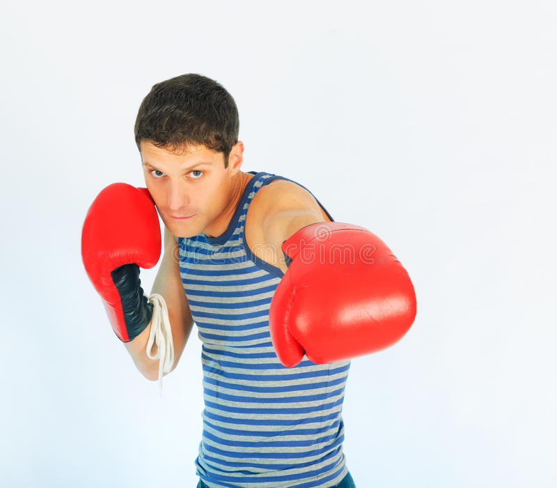 Download A young sporty men stock image. Image of sporty, isolated - 13236611