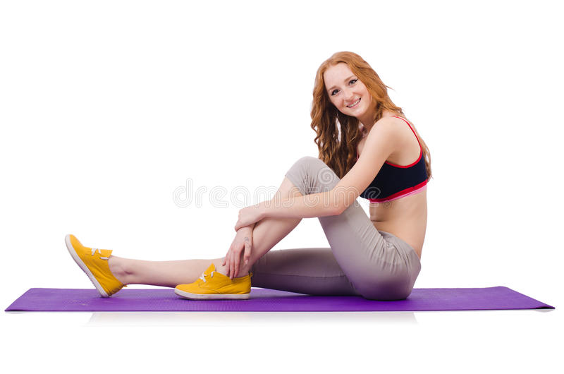 Young Sporty Woman Royalty Free Stock Image