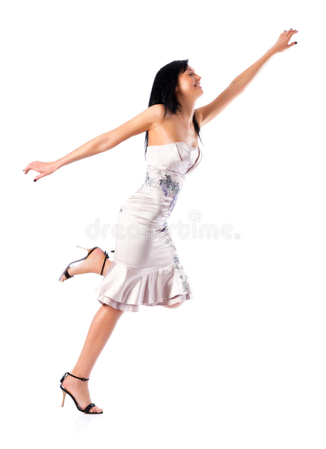 Download Young stretching woman stock photo. Image of positive - 10727232