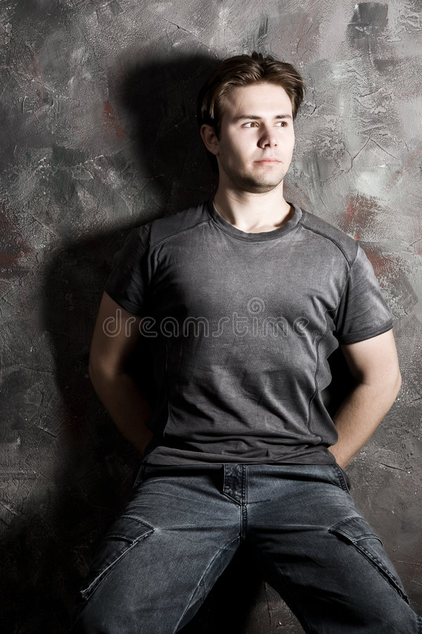 Young Strong Man Royalty Free Stock Image