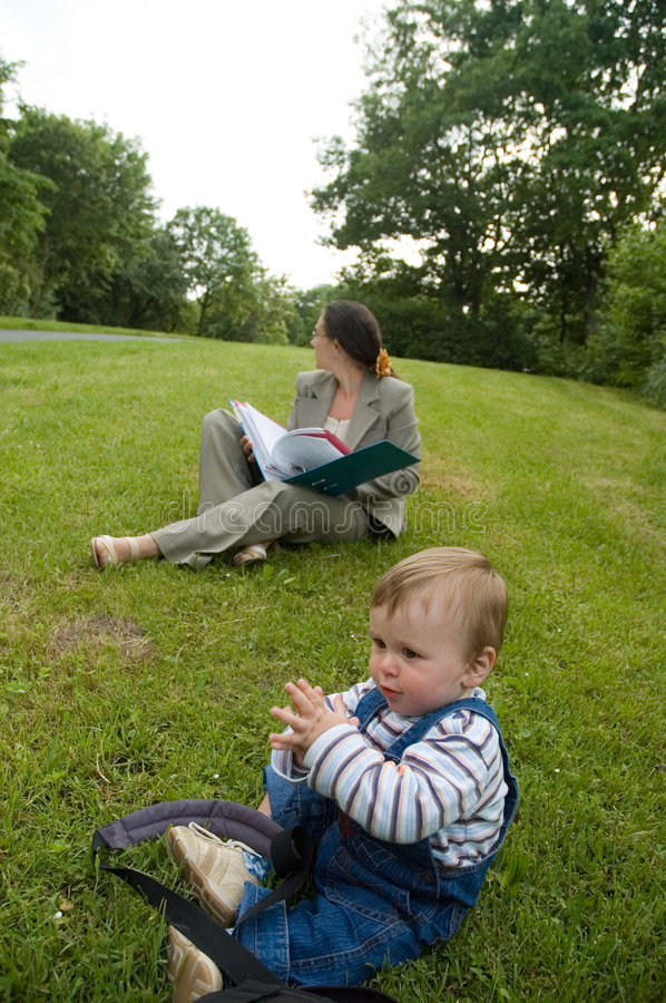Download Young student stock photo. Image of green, hair, baby, read - 474776