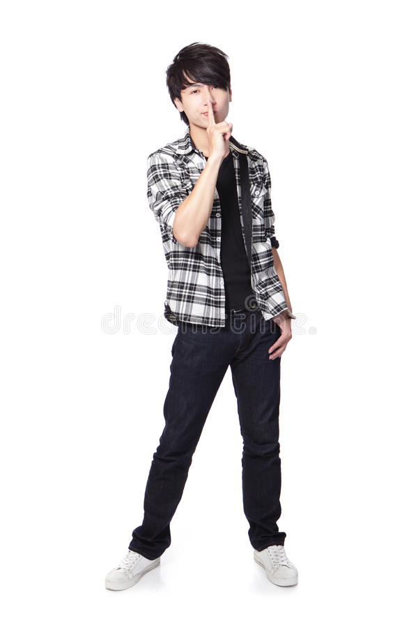 Download Young Student Man Asking Quiet Stock Image - Image: 28945825