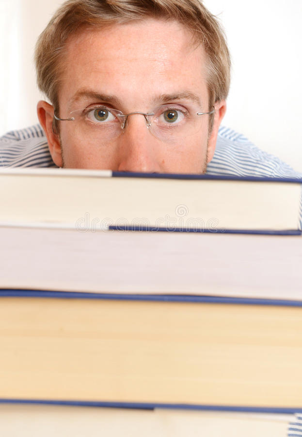 Download Young Student Overwhelmed stock photo. Image of stress - 35584088