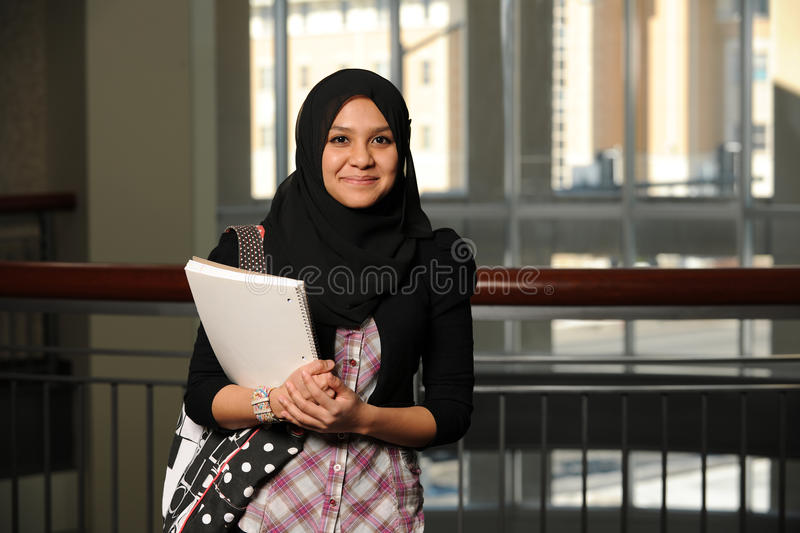 Download Young Student Wearing A Veil Stock Image - Image: 19364213