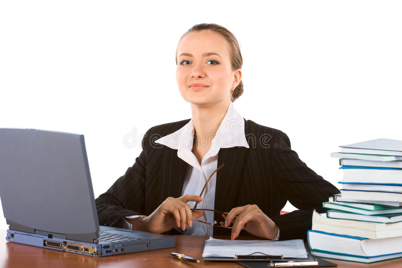 Young Successful Businesswoman Royalty Free Stock Images