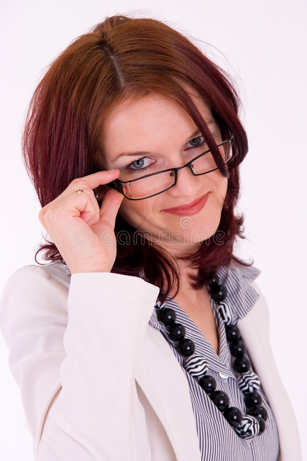Download Young Successful Female Manager Portrait Royalty Free Stock Image - Image: 5485406