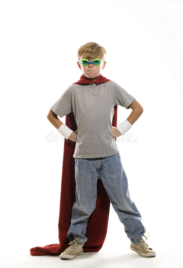 Download Young Super Hero stock image. Image of power, childhood - 21443349